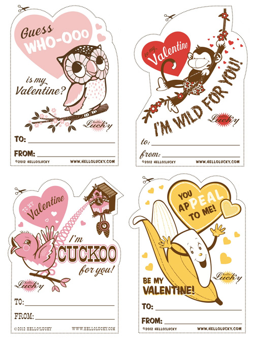 graphic about Printable Valentine referred to as No cost Printables for Valentines Working day - Paper Crave