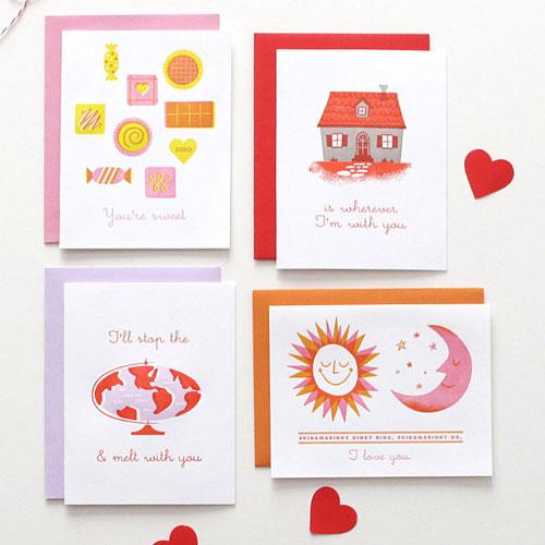 Lulu Dee Letterpress Valentines
