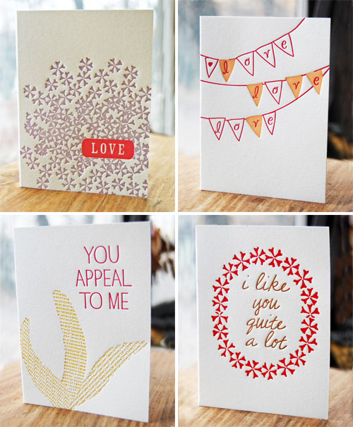 Studio Olivine Letterpress Cards