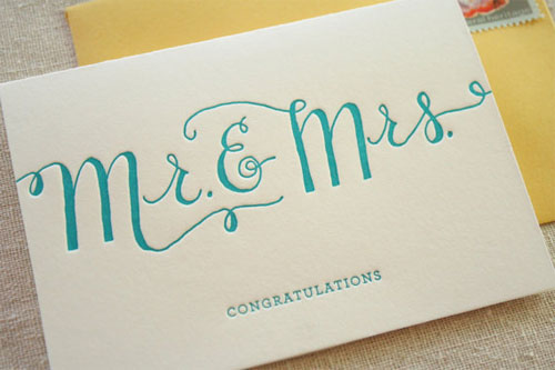 Wedding Congratulations Cards Paper Crave