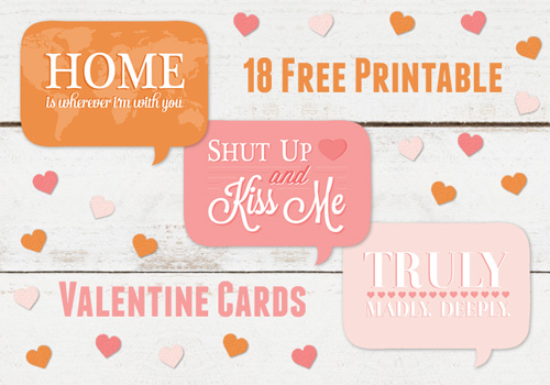 Thank You Card Shop Printable Valentines