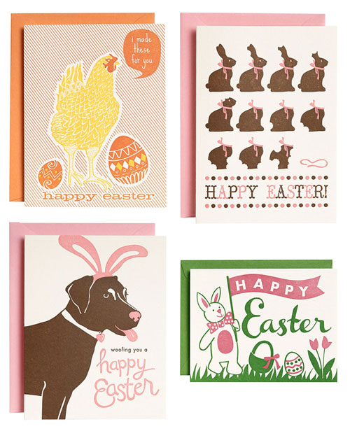 Paper Source Easter Cards