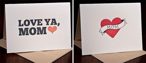 Ink Meets Paper Letterpress Cards