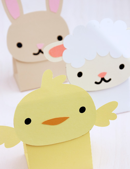 Cute Animal Treat & Favor Boxes