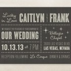 Lucky in Love Wedding Invitations