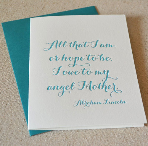 Paper Ink Press Mother's Day Card