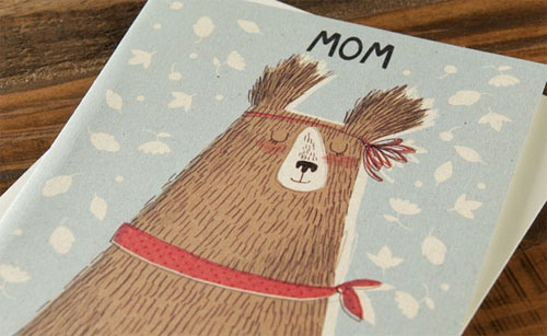 Kate Hindley Mother's Day Card