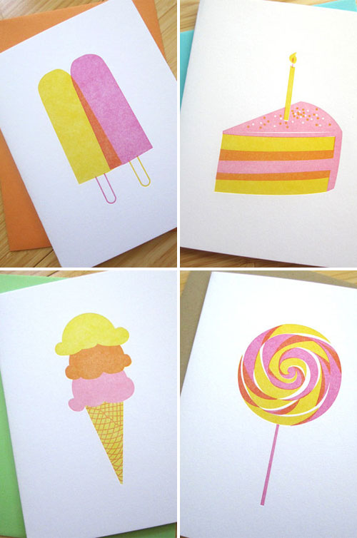 Studio Slomo Letterpress Cards