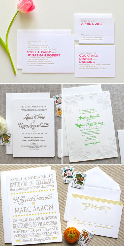 We Heart Paper Wedding Invitations