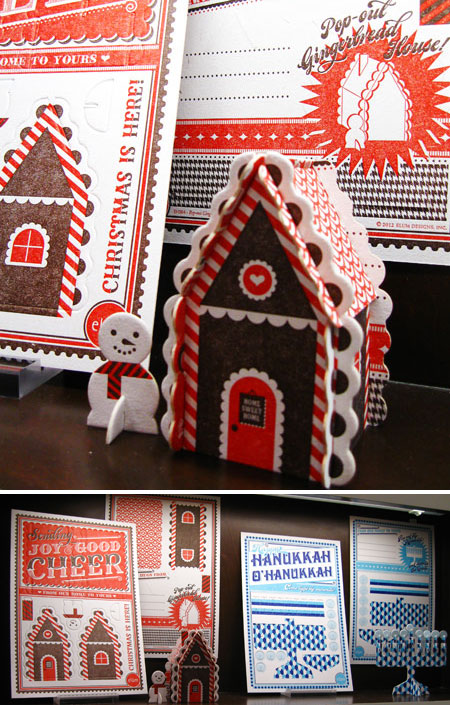Die Cut Gingerbread House & Menorah