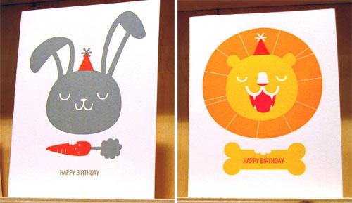 Fugu Fugu Press Birthday Cards