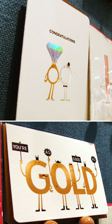 Maginating Foil Stamped Cards
