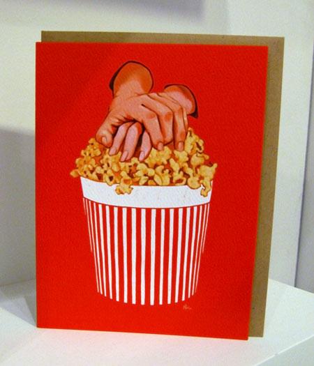Nic Studio Popcorn Card