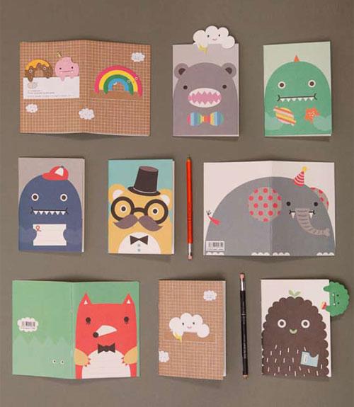 Noodoll Notebooks