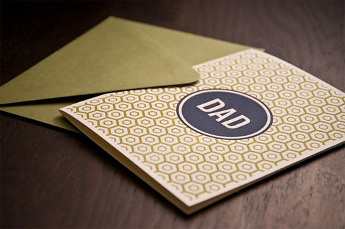 Noteworthy Press Father's Day Card