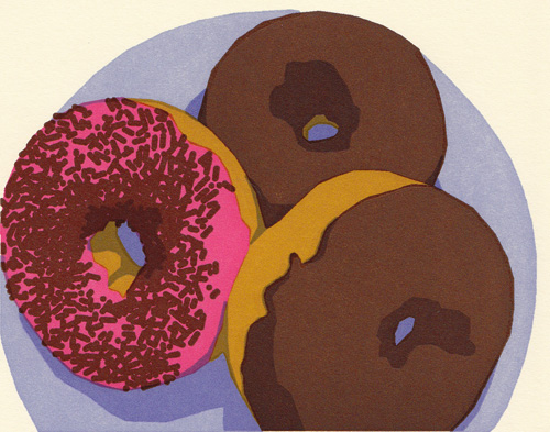 Doughnuts Greeting Card