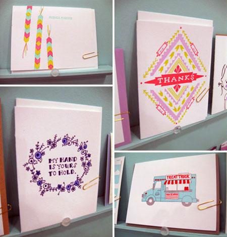 Printerette Letterpress Cards