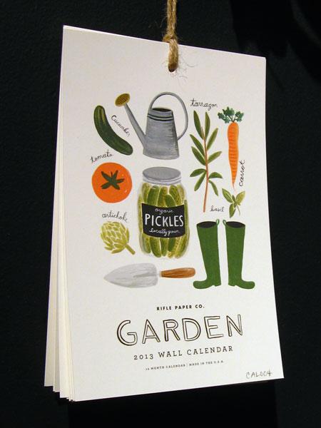 Rifle Paper Garden Calendar