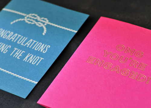 Neon Greeting Cards