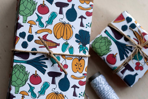 Foodie Gift Wrap