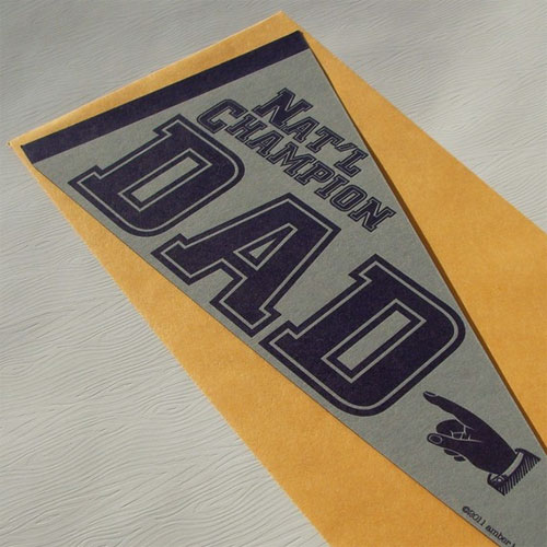 A. Favorite Father's Day Vintage Pennant