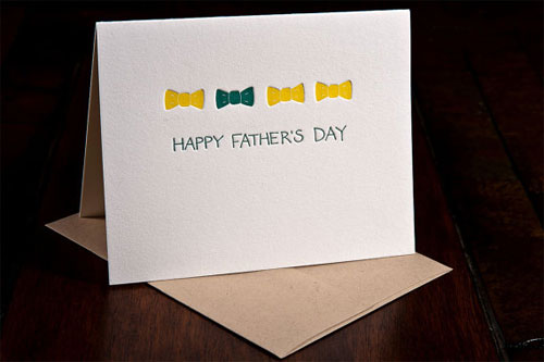 Ink Meets Paper Father's Day Card