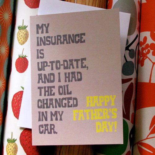 La Familia Green Father's Day Card