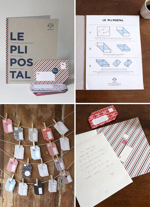 Papier Tigre The Pli Postal