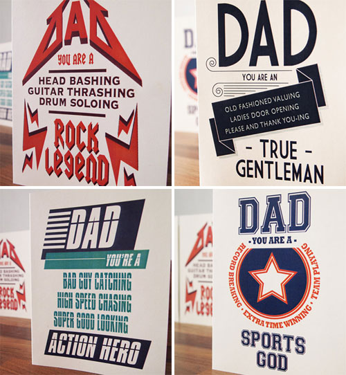 Sam Osborne Father's Day Cards
