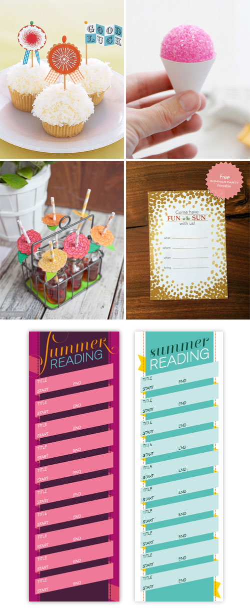 Summer Paper Crafts + Printables