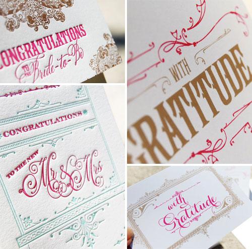 Wiley Valentine Letterpress Cards