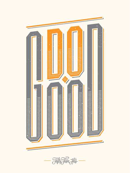 Do Good Screenprint