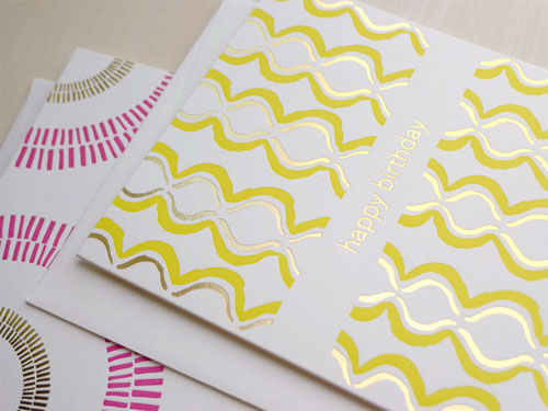 Luxe Pattern Birthday Cards