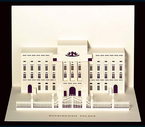 Buckingham Palace Pop-Up Card by Judy Robinson