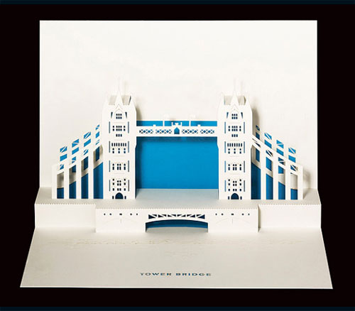 Tower Bridge Pop-Up Card by Judy Robinson