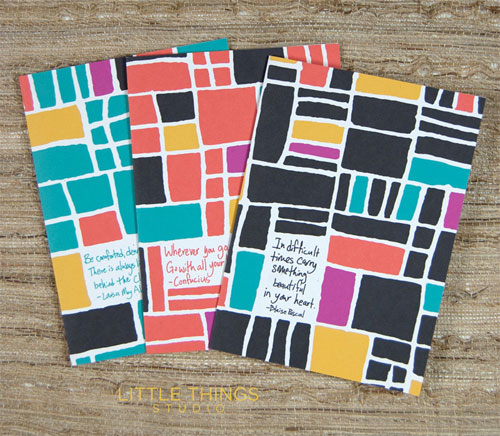 Modern Patterned Paper Goods