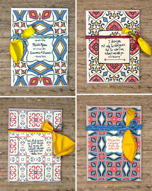 Greeting Cards by Little Things Studio