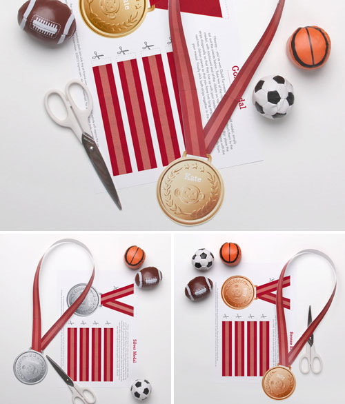 Printable Olympics Medals