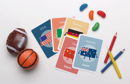 Printable Olympic-Themed Playing Cards