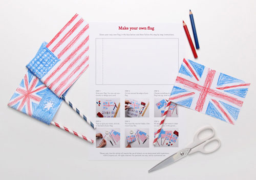 Make Your Own Flag Printable