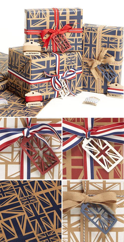 Union Jack Gift Wrap