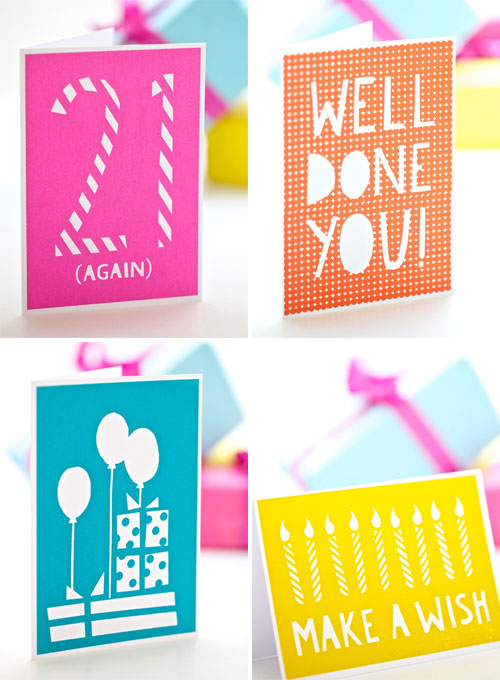 Screenprinted Greeting Cards