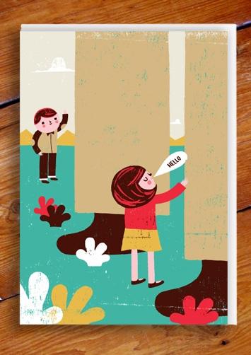 Hello Card by Ben Javens