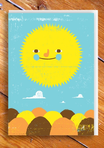 Sun Card by Ben Javens