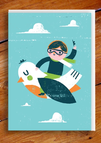 In Flight Card by Ben Javens