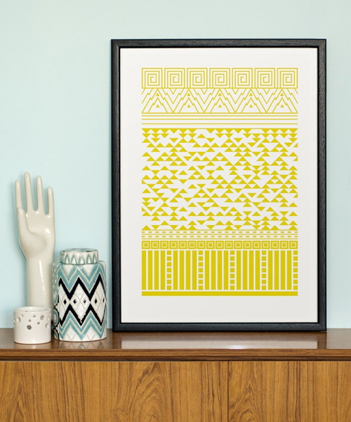 From Mountains to Cities Screen Print