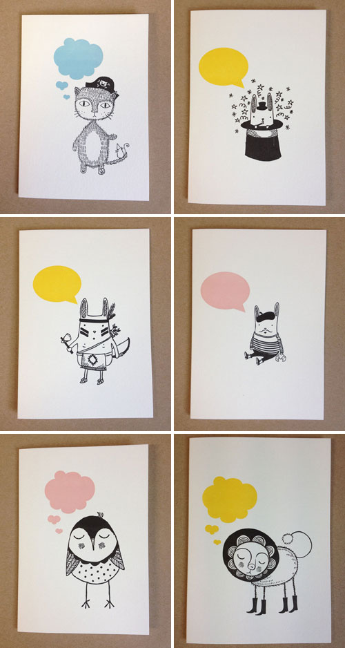 Illustrated Cards by Imogen Owen