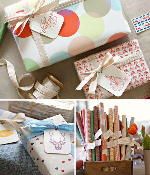 Double Sided Gift Wrap