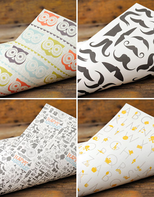 Ruff House Art Wrapping Paper