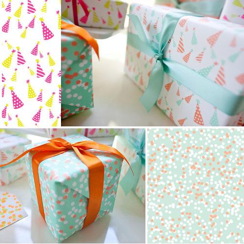 Unique Party Gift Wrap